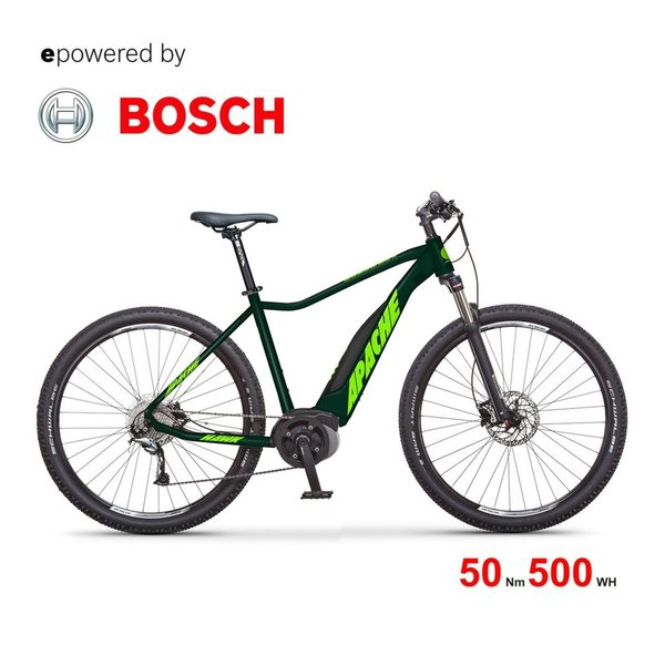 Apache HAWK BOSCH Active Plus 50Nm PowerPack 500 Wh 29 Zoll Hardtail